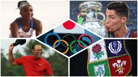 Northern Ireland Dina Asher-Smith, Cristiano Ronaldo and Tiger Woods are just some of the potential stars in 2021