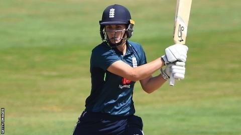 England's Natalie Sciver