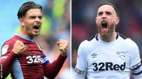 Aston Villa promoted to Premier League after beating Derby at Wembley
