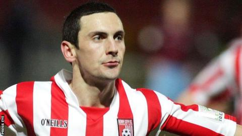 Mark Farren played for Derry City