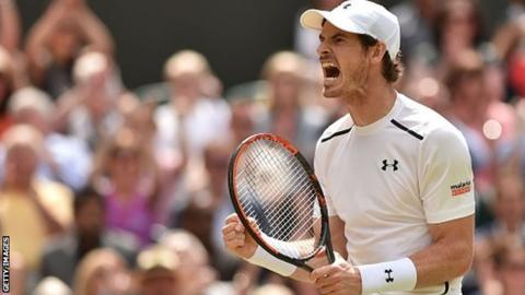 Andy Murray won Wimbledon in 2013 and 2016