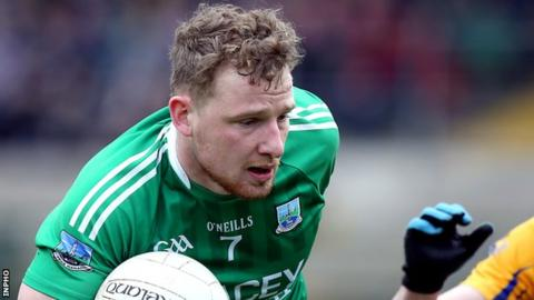 Aidan Breen scored one goal and set up the other as Fermanagh beat Monaghan