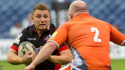 Duncan Weir in action for Edinburgh