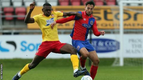 Akil Wright has established himself in the Wrexham midfield this season