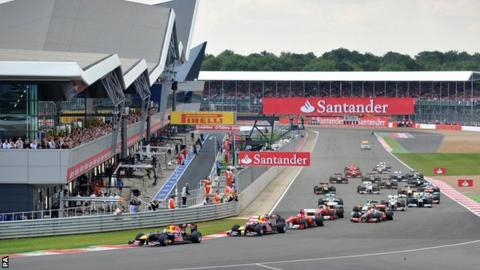 F1 British Grand Prix at Silverstone