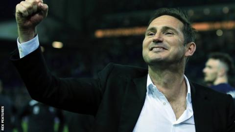 Derby boss Frank Lampard