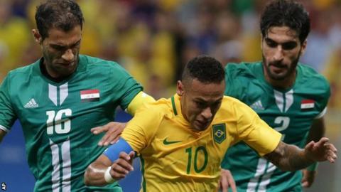 Brazil draw 0-0 against Iraq