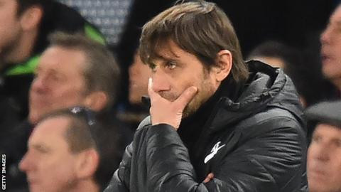 Antonio Conte's Chelsea job under threat