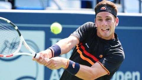 Cameron Norrie has reached the Atlanta Open semi-finals