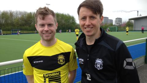 Iain Scholefield and Chris Nelson of Kelburne