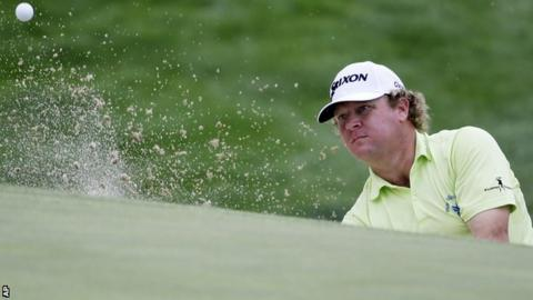 William McGirt in third-round action at the Memorial tournament