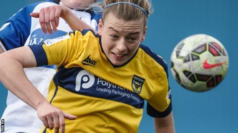 Oxford United Women midfielder Kat Nutman