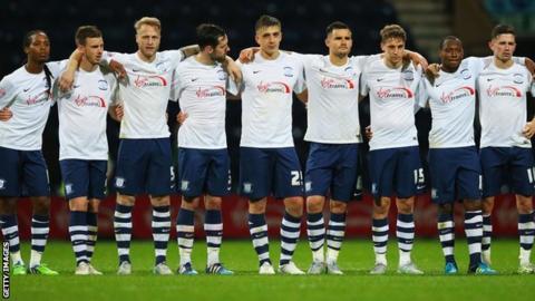 Preston players