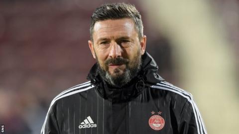 Aberdeen are on a nine-game unbeaten run