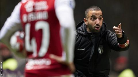 Ruben Amorim has led Braga to wins over Benfica, Porto and Sporting in his nine games in charge