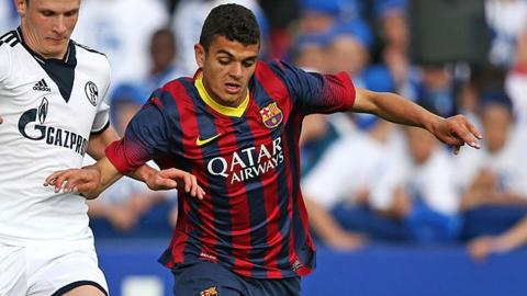 Moha El Ouriachi Choulay joined Stoke from Barcelona in the summer of 2015