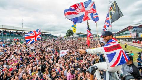 Vettel wins British GP as Hamilton recovers to finish second