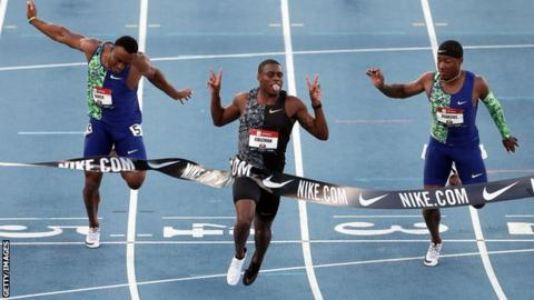 Christian Coleman: American sprinter charged under anti-doping rules