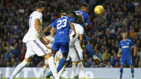 Lassana Coulibaly scores for Rangers