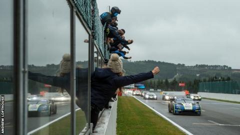 The #97 Aston mMrtin makes history at Spa