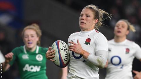 Lydia Thompson of England women