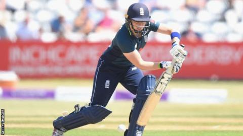 England women in India: Captain Heather Knight guides England home in warm-up