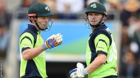Ed Joyce and William Porterfield had a second-wicket stand of 326