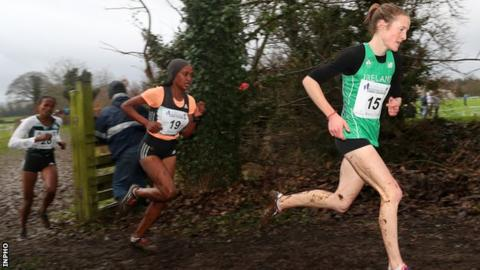 Fionnuala McCormack (right) has twice won the women's race at Greenmount