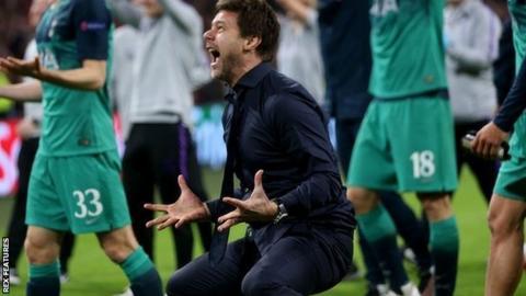 Spurs boss Mauricio Pochettino