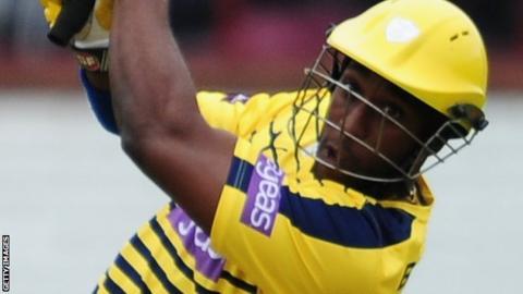 Hampshire batsman Michael Carberry