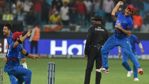 Asghar, Rashid named in Afghanistan's World Cup squad