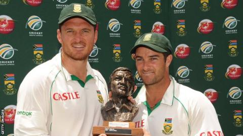 Graeme Smith and Mark Boucher