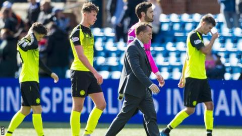 Brendan Rodgers disappointed by Bhoys' 'bitty' start to the season