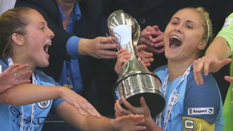 Steph Houghton (right)