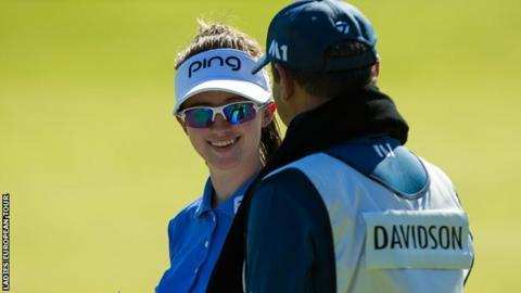 Karis Davidson at the Oates Vic Open