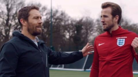 Jonny Wilkinson Harry Kane