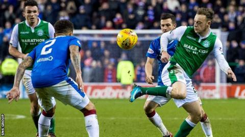 Brandon Barker caused Rangers problems with his pace