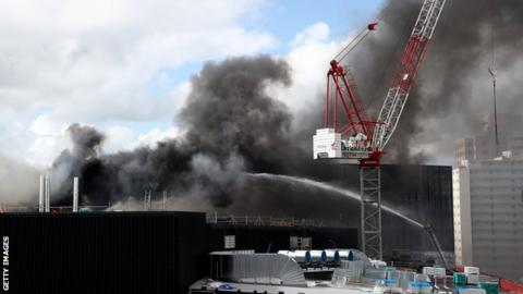 Fire at SkyCity Convention Centre in Auckland