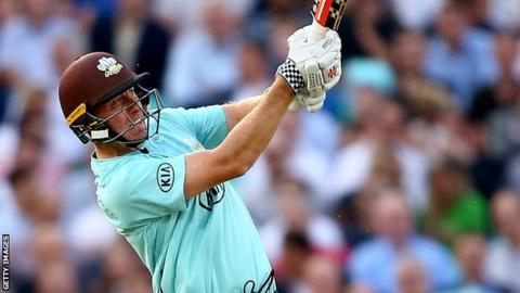 Surrey all-rounder Rikki Clarke