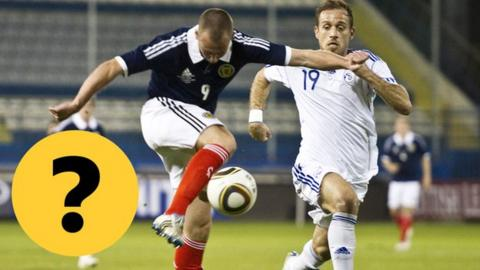 Test your knowledge of Scotland v Cyprus