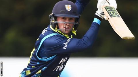 Cameron Steel: Durham batsman signs contract extension until 2021
