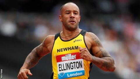 Anniversary Games: James Ellington races for first time since 2017 accident