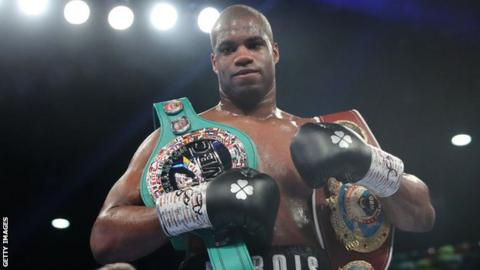 Dubois has a record of 14 wins from 14 bouts with 13 ending inside the distance