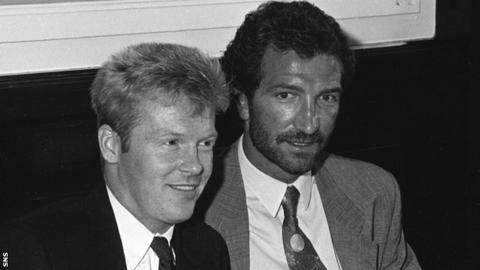 Mo Johnston and Graeme Souness