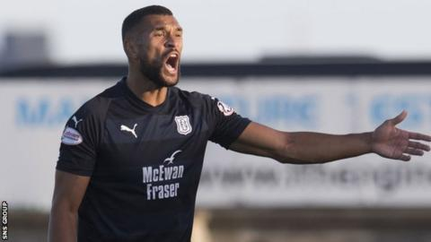Steven Caulker signed an 18-month deal at Dundee in February