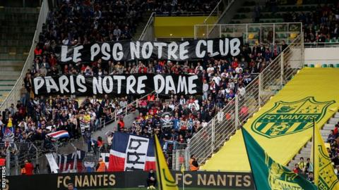 PSG Again Fails to Clinch Ligue 1 Title After Losing at Nantes