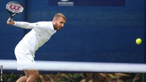 Dan Evans advances to Nottingham final