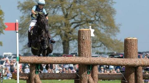 Jonelle Price and Classic Moet at the Badminton Horse Trials