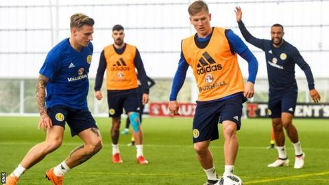 Kieran Tierney ruled out of Scotland friendlies with calf injury