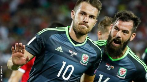 Arsenal midfielder Aaron Ramsey was Wales captain before being succeeded by  Ashley Williams 35963463d